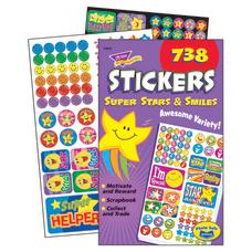 Trend Sticker Pad Super Stars And