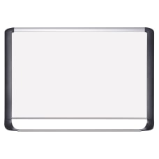 MasterVision Porcelain Dry Erase Whiteboard 48