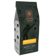 Copper Moon Coffee Ground Coffee Donut