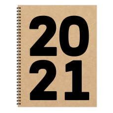 TF Publishing Large WeeklyMonthly Planner 8