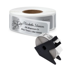 Personalized Rolled Address Labels 2 12