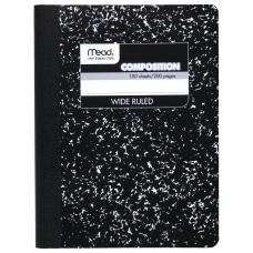 Composition Book Wide Ruled 50 Sheet