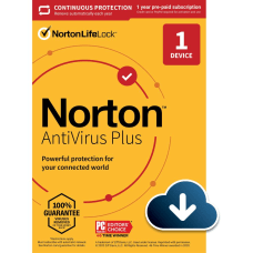 Norton Antivirus Plus For 1 Device