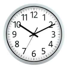 Realspace Round Wall Clock 12 Spray