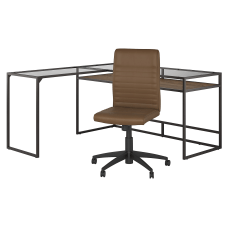 Bush Furniture Anthropology 60 W Glass