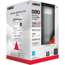 Satco 13W BR40 LED 2700K Bulb
