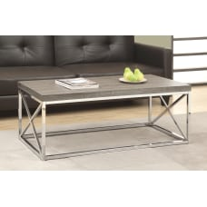 Monarch Specialties Hollow Core Coffee Table