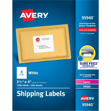 Avery Bulk Shipping Labels 95940 3