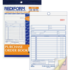 Rediform 3 Part Carbonless Purchase Order