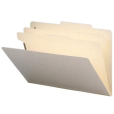 Smead Manila Classification Folders 2 Dividers