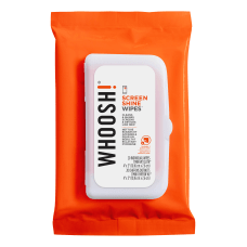 WHOOSH Screen Shine Wipes Pack Of