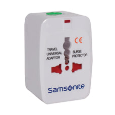 Samsonite Power Adapter World Wide White