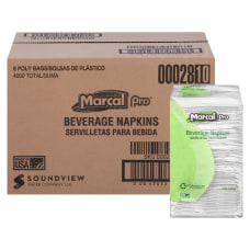 Marcal 100percent Recycled 1 Ply Beverage