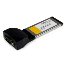 StarTechcom 1 Port ExpressCard to RS232