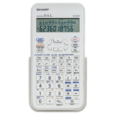 Sharp EL 531XBDW Handheld Scientific Calculator