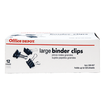 Office Depot Binder Clips Large 2