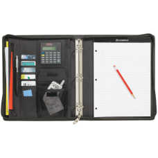 Cambridge City Microfiber Zipper Binder 1