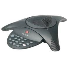Polycom SoundStation2 Conference Phone Black