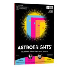Astrobrights Filler Paper 8 x 10