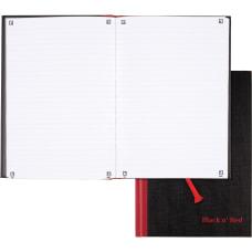 Black n Red Casebound Business Notebook