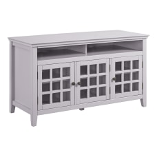 Linon Kacey 3 Door Media Console