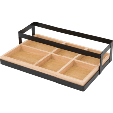 Vertiflex Tabletop Condiment Caddy 6 Compartments