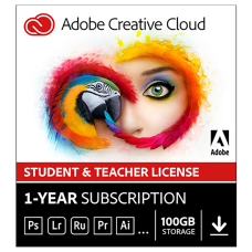 Adobe Creative Cloud Student Teacher License