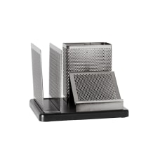 Rolodex Distinctions Punched Metal And Wood