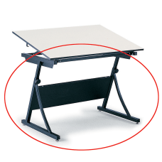 Safco Planmaster Drafting Table Base Black