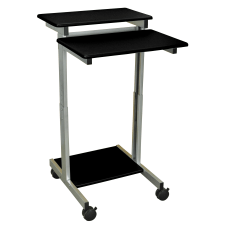 Luxor 24 W Standup Desk BlackGray
