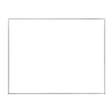 Ghent Verona Melamine Dry Erase Whiteboard