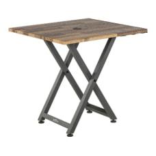 Vari Standing Meeting Table Reclaimed Wood