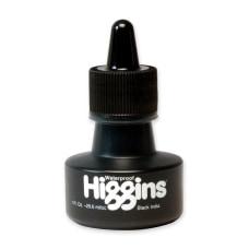 Higgins Waterproof India Ink Black 1
