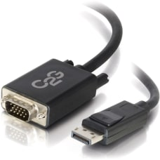 C2G 3ft DisplayPort to VGA Adapter