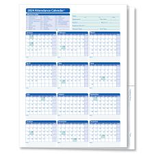 ComplyRight 2021 Attendance Calendar Folders 9