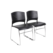 Boss Office Products Plastic Seat Plastic