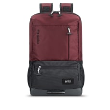 Solo Draft Laptop Backpack Burgundy