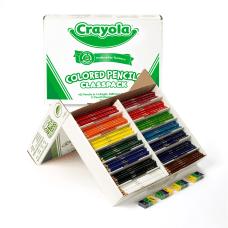 Crayola Classpack Color Pencils Set Of