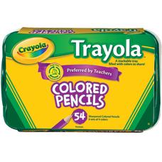 Crayola Trayola Color Pencils And Tray