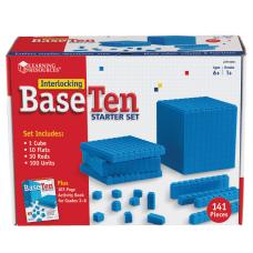 Learning Resources Interlocking Base 10 Starter