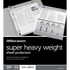 Office Depot Brand Super Heavyweight Sheet