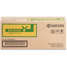 Kyocera Original Toner Cartridge Yellow TK