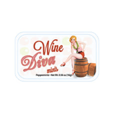 AmuseMints Sugar Free Mints Wine Diva