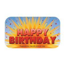 AmuseMints Sugar Free Mints Happy Birthday