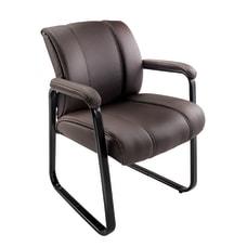 Brenton Studio Bellanca Guest Chair BrownBlack
