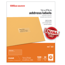 Office Depot Brand Address Labels OD99312