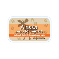 AmuseMints Destination Mint Candy Alaska Moose