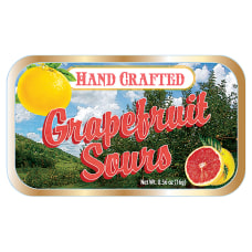 AmuseMints Fruit Sours Grapefruit 056 Oz