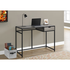 Monarch Specialties Metal Computer Desk BlackDark