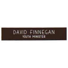 Custom Plastic Engraved Wall Sign 2